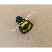 Штуцер патрубка картерных газов, быстросъем шланга вентиляции картера ( 17mm под патрубок / шланг, 17.5mm там где быстросъем ) прямой для RENAULT LOGAN 1.6 K7M 710 87 л.с.