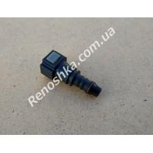 Штуцер топливного фильтра, шланга, переходник топливной трубки, быстросъемный ( прямой ) 8mm быстросъем / 10mm под топливную трубку!