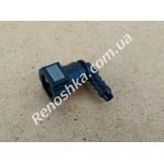 Штуцер топливного фильтра, шланга, переходник топливной трубки, быстросъемный ( угловой ) 9.5mm / 8mm!