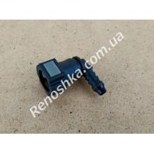 Штуцер топливного фильтра, шланга, переходник топливной трубки, быстросъемный ( угловой ) 9.5mm / 8mm! для RENAULT LOGAN