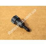 Штуцер топливного фильтра, шланга, переходник топливной трубки, быстросъемный ( прямой ) 10mm / 8mm!