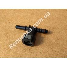 Штуцер топливного фильтра, шланга, переходник топливной трубки, быстросъемный ( тройник ) 8mm Т-образный!