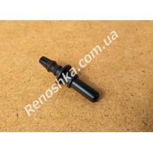 Штуцер топливного шланга ( прямой на два выхода, 8mm / 8mm ) переходник топливной трубки с уплотнителем, для бензина и дизеля! для RENAULT LOGAN