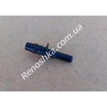 Штуцер топливного шланга ( прямой на два выхода, 8mm / 10mm ) переходник топливной трубки с уплотнителем, для бензина и дизеля! для RENAULT LOGAN