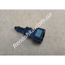 Штуцер топливного фильтра, шланга, переходник топливной трубки, быстросъемный ( прямой ) 9.5mm / 8mm! для RENAULT LOGAN 1.6 K7M 710 87 л.с.