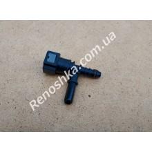 Штуцер топливного фильтра, шланга, переходник топливной трубки, быстросъемный ( тройник ) 8mm, под быстросъем! для RENAULT LOGAN