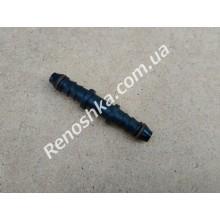 Штуцер топливного шланга ( прямой на два выхода, 8mm / 8mm ) переходник топливной трубки с уплотнителем, для бензина и дизеля, 2 стороны под шланг! для RENAULT LOGAN