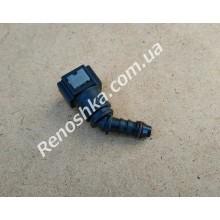 Штуцер топливного фильтра, шланга, переходник топливной трубки, быстросъемный ( под 45 градусов ) 7.89, 8 / 8mm!