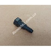 Штуцер топливного фильтра, шланга, переходник топливной трубки, быстросъемный ( прямой ) 9.89mm быстросъем / 12mm под топливную трубку! для RENAULT LOGAN